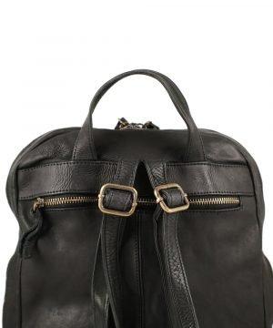 Großer italienischer Leder rucksack Leder Rucksack