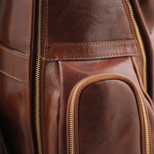 Herren Leder rucksack Italienisches Design