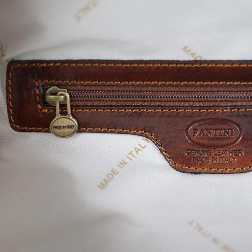 Herren Leder rucksack Leder rucksack herren made in italy