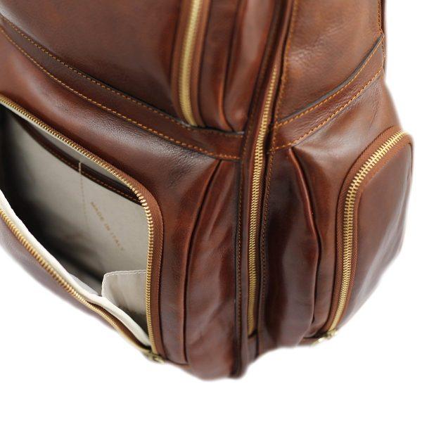 Herren Leder rucksack Lederrucksack Laptop