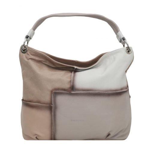 Italienische ledertaschen damen beige
