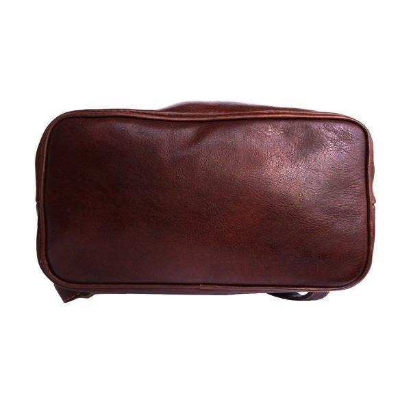 Kleine leder rucksäcke damen braun Lederrucksack