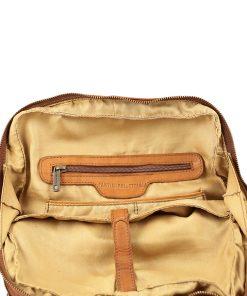 Leder rucksack Damen weichem Leder fantini pelletteria
