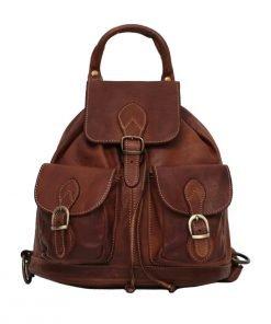Leder rucksack Frauen