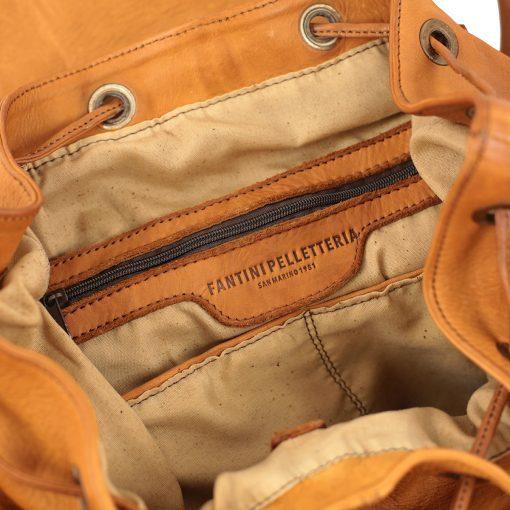 Leder rucksack damen fantini pelletteria