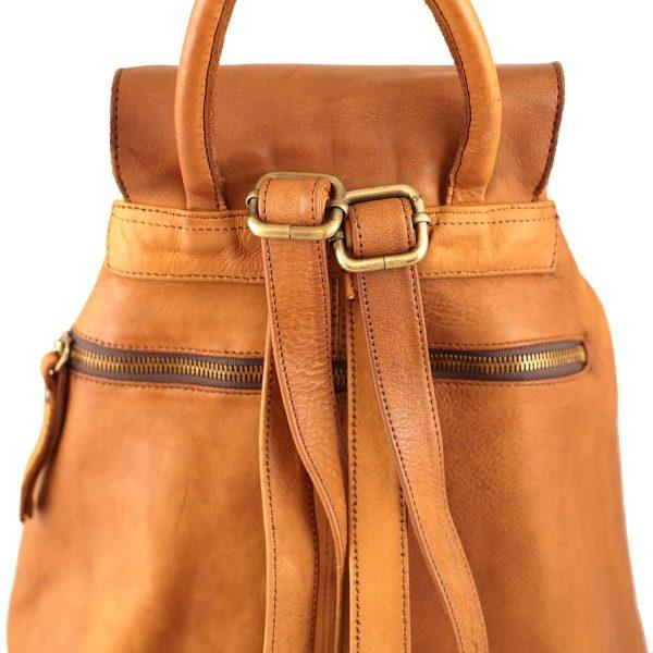 Leder rucksack damen natürliche echtes Leder