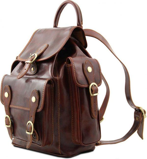 Leder rucksack unisex italy italienische Mode