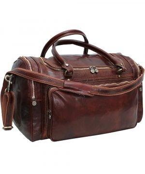 Reisetasche leder reise tasche aus leder