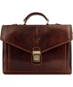 business taschen leder braun laptoptasche