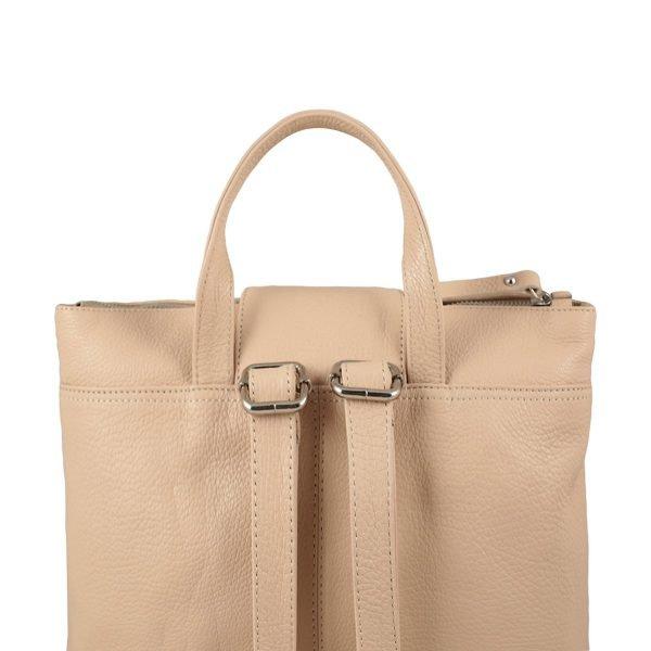 design italia leder rucksack damen rosa italienische Mode