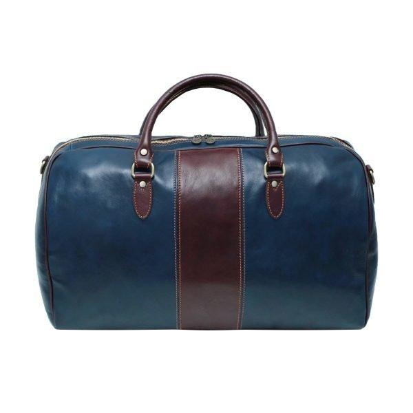 echtleder reißverschluss reisetasche vintage