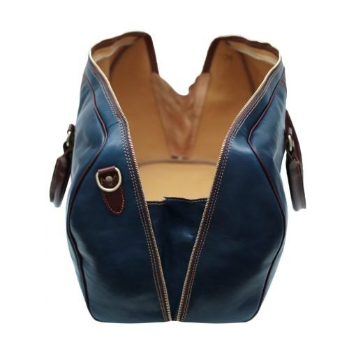 echtleder reißverschluss reisetasche vintage fantini pelletteria