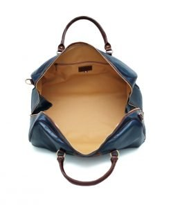 echtleder reißverschluss reisetasche vintage in Ledertasche