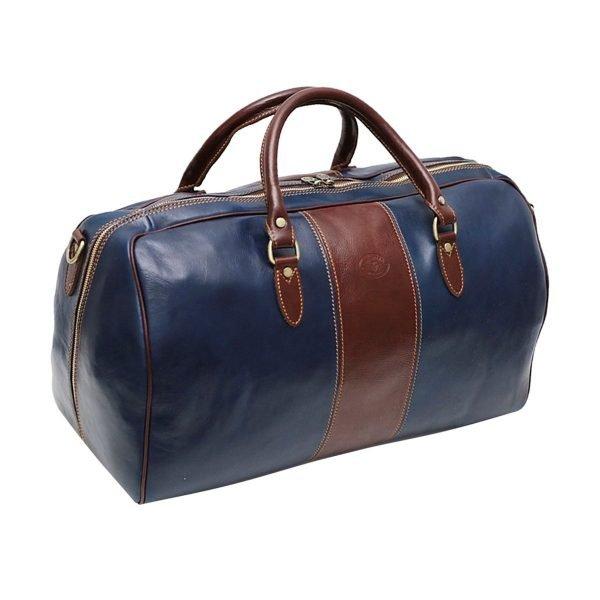 echtleder reißverschluss reisetasche vintage italienische pelle mode