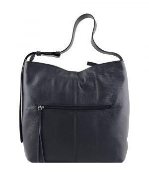 frauen tasche dunkelblau ledertasche frau ledertasche made in italy