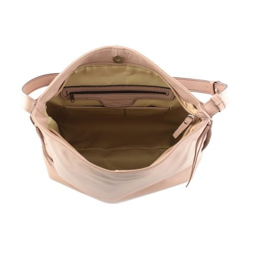 frauen tasche rosa ledertasche frau ledertasche made in italy