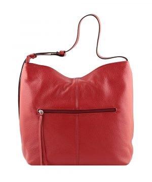 frauen tasche rot ledertasche frau ledertasche made in italy