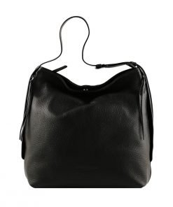 frauen tasche schwarz ledertasche frau ledertasche made in italy