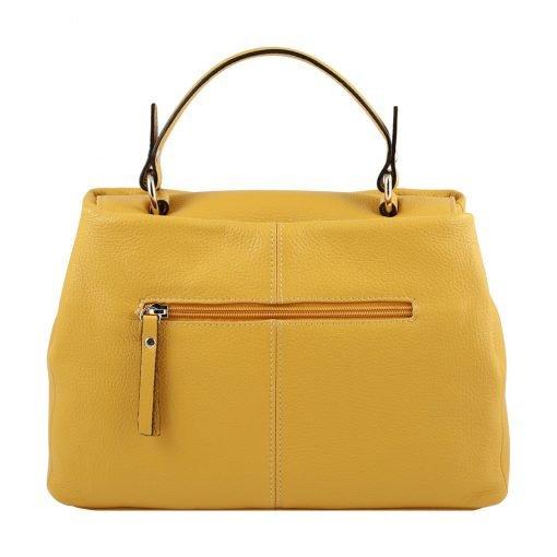 gelb ledertasche damen shopper ledertasche shopper