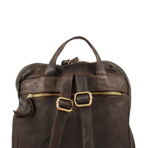 großer italienischer leder rucksack braune farbe Leder Rucksack