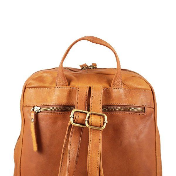 großer italienischer leder rucksack natürliche farbe leder rucksack