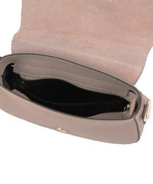 handtasche damen leder rosa fantini made in italy