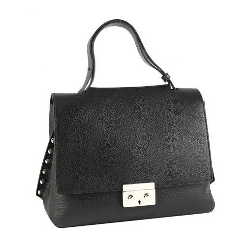 handtasche leder schwarz