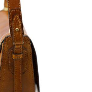 handtasche umhängetasche ledertasche honig Italienische Mode