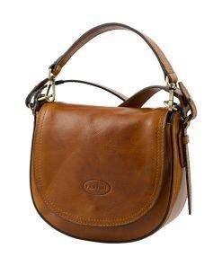 handtasche umhängetasche ledertasche honig made in italy