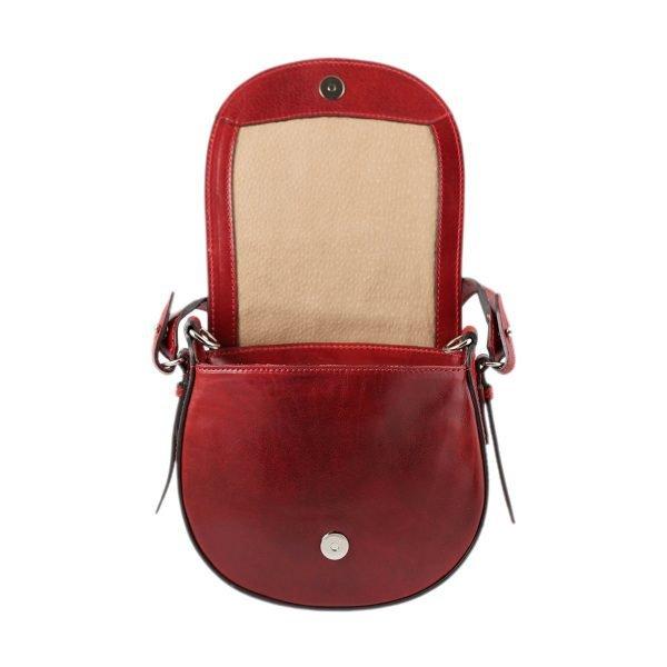 handtasche umhängetasche ledertasche rot