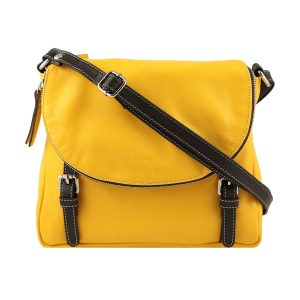 handtaschen shopper leder gelb