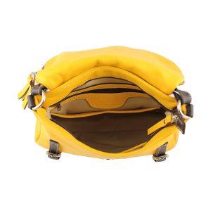 handtaschen shopper leder gelb fantini pelletteria