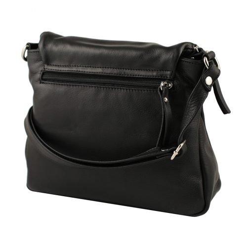 handtaschen shopper leder schwarz made in italy