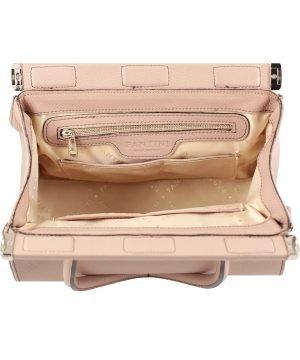 italienische lederhandtaschen pink fantini pelletteria