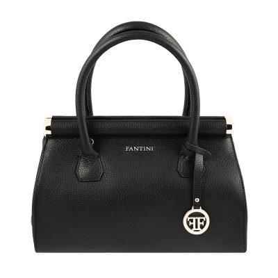 italienische lederhandtaschen schwarz