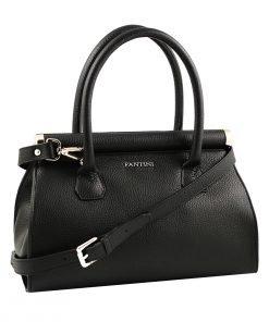 italienische lederhandtaschen schwarz made in italy