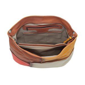 italienische ledertaschen damen lachsfarbe italienische ledertaschen