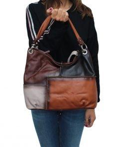 italienische ledertaschen damen natürliche fantini italy