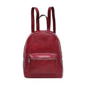 italienische mode leder rucksack