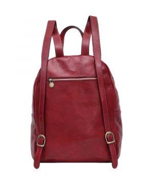 italienische mode leder rucksack made in italy