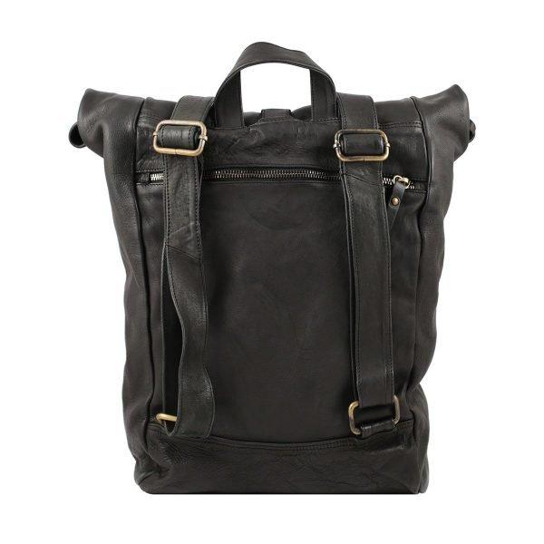 italienische mode rucksäcke schwarz made in italy