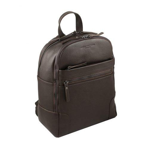 italienischer leder rucksack für herren made in italy