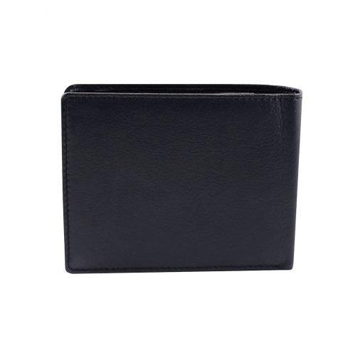 kleine leder brieftasche für männer dunkelblau