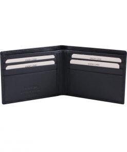 kleine leder brieftasche für männer dunkelblau fantini lederwaren