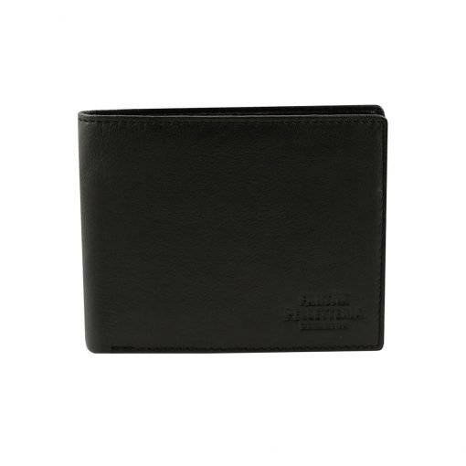 kleine leder brieftasche für männer schwarz