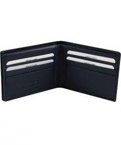 leder brieftasche herren italienisches dunkelblau geldbörse