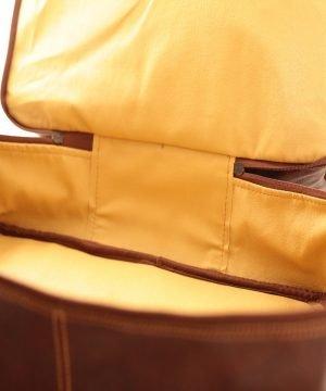 leder reisekoffer mit doppeltem boden aus Leder fantini pelletteria doppeltem boden