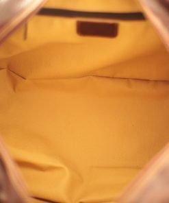leder reisekoffer mit doppeltem boden aus Leder fantini pelletteria natürliches gemüse
