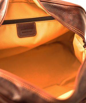 leder reisekoffer mit doppeltem boden aus Leder natürliches gemüse made italy
