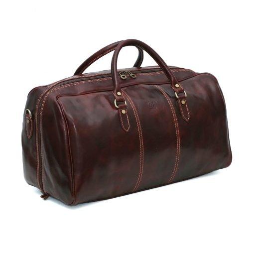 leder reisetaschen reisetaschen leder braun fantini pelletteria